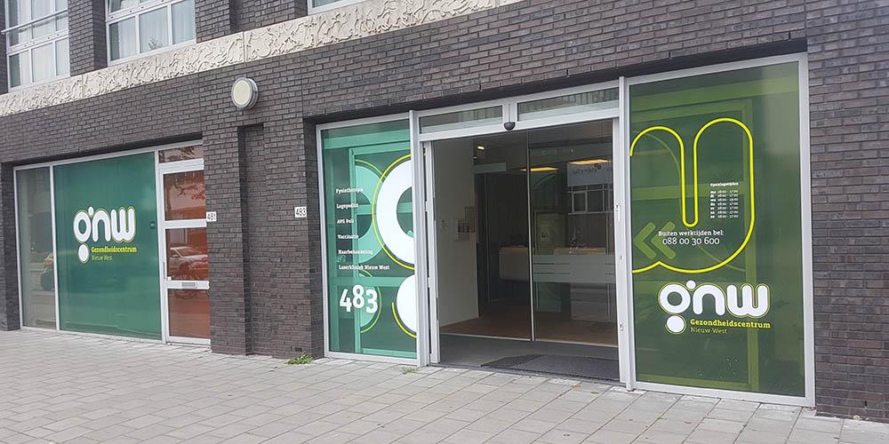 Gezondheidscentrum Nieuw West Amsterdam